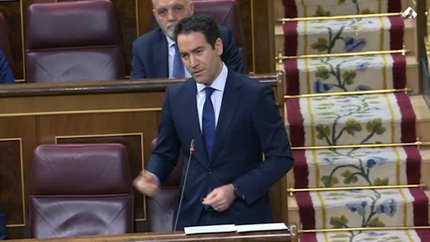 """Iglesias acusa a PP de traición y Egea, de ser """"monaguillo de Sánchez"""""""