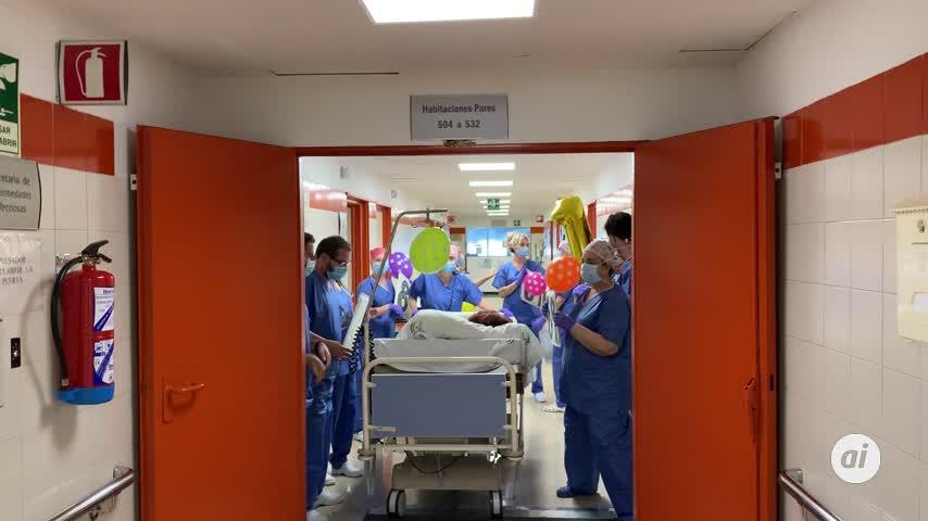 El Hospital Regional de Málaga se vacía de pacientes con Coronavirus