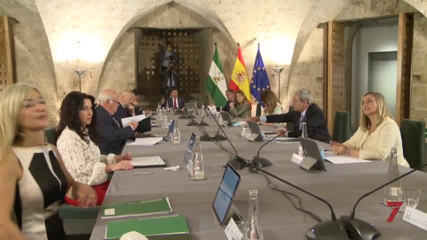 Moreno y Marín exhiben su sintonía al frente de la Junta