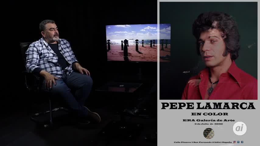 'Pepe Lamarca EN COLOR', exposición inédita y de talla internacional