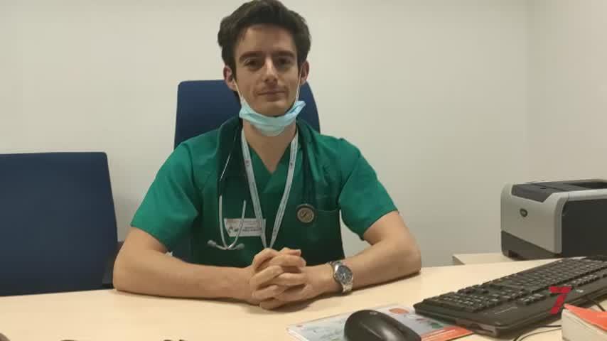 Jesús Herraiz,  el residente de Jerez que donó su plasma