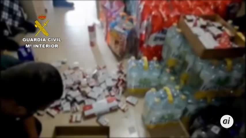 Intervenidas 378 cajetillas de tabaco en Santaella