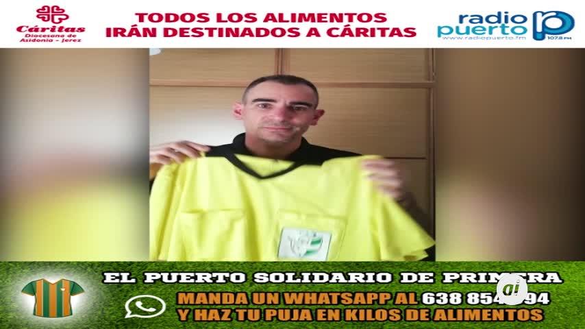 El mejor árbitro de fútbol sala del mundo en 'El Puerto Solidario'