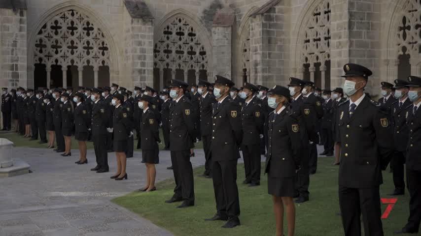 La Policía Nacional da la bienvenida a 122 nuevos agentes en Jerez