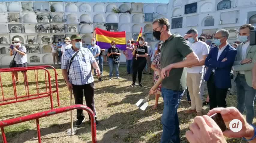 Diputación comienza la búsqueda de unos 40 represaliados en Jimena