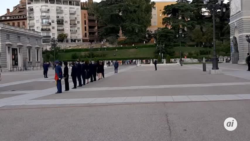 Los Reyes presiden el funeral por las víctimas de la Covid
