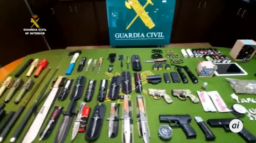 Un detenido en Almonte por tráfico de armas prohibidas