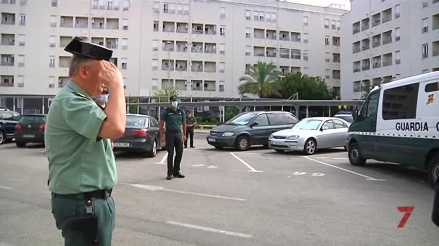 Guardia Civil de Cádiz recibe su primer vehículo totalmente eléctrico