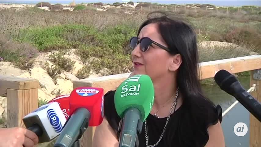 """""""A Camposoto le faltan muchas mejoras para ser una playa accesible"""""""