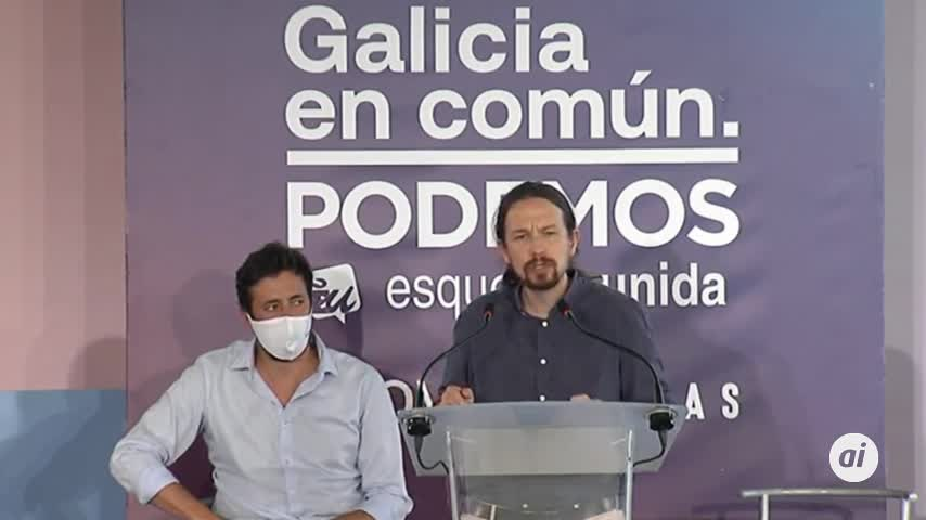 "Iglesias: Podemos está ""muy contento"" de compartir gobierno con PSOE"