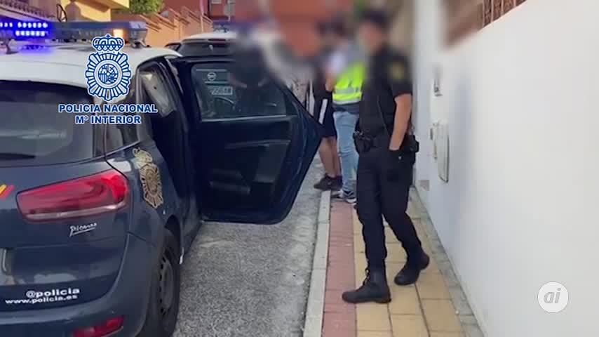 Cuatro detenidos con 350 kilos de hachís en un garaje de Algeciras
