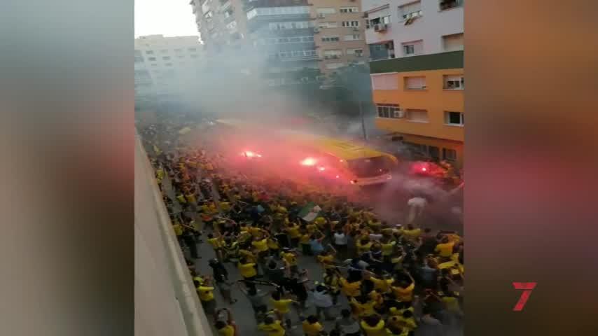 """""""No hay dispositivo posible para actuar"""" en la aglomeración del Cádiz"""