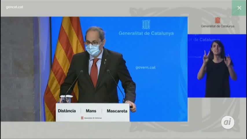 Torra desobedece a la juez e impone el confinamiento en Lleida