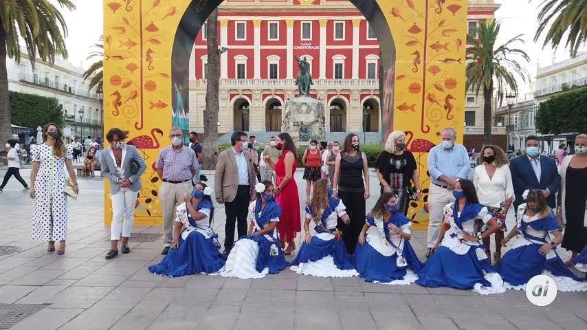 Inaugurada la bicentenaria edición de la Feria del Carmen y de la Sal