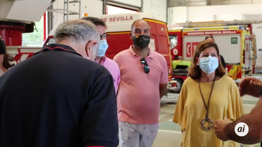 Cs critica la situación de los bomberos de la provincia