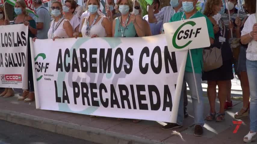 """Los sanitarios estallan: """"Estamos discriminados"""""""