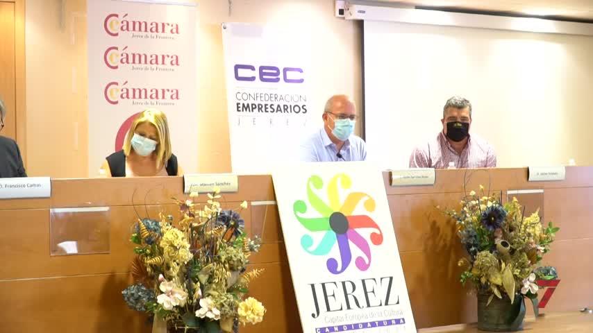 La Cámara de Comercio apoya 'Jerez Capital Europea de la Cultura 2031'