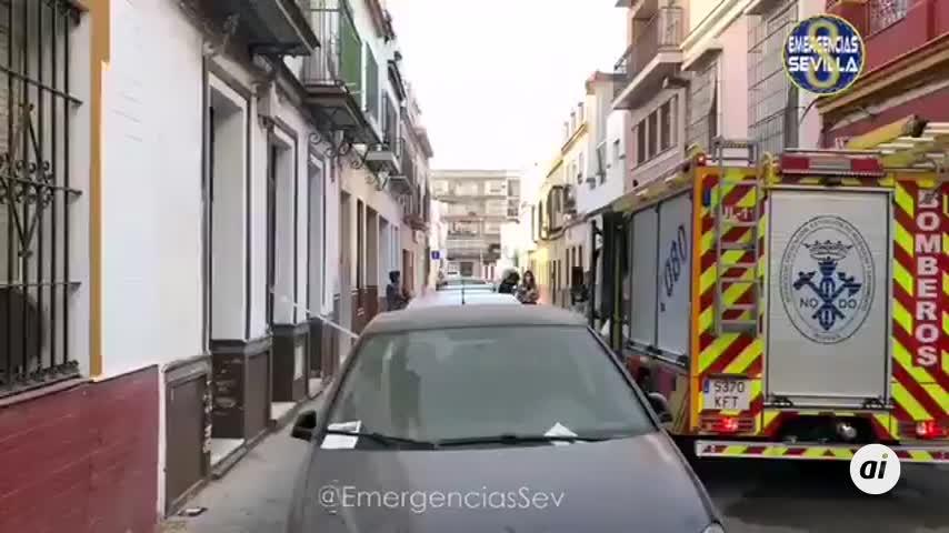 Fallece una mujer en un incendio de vivienda en la Macarena