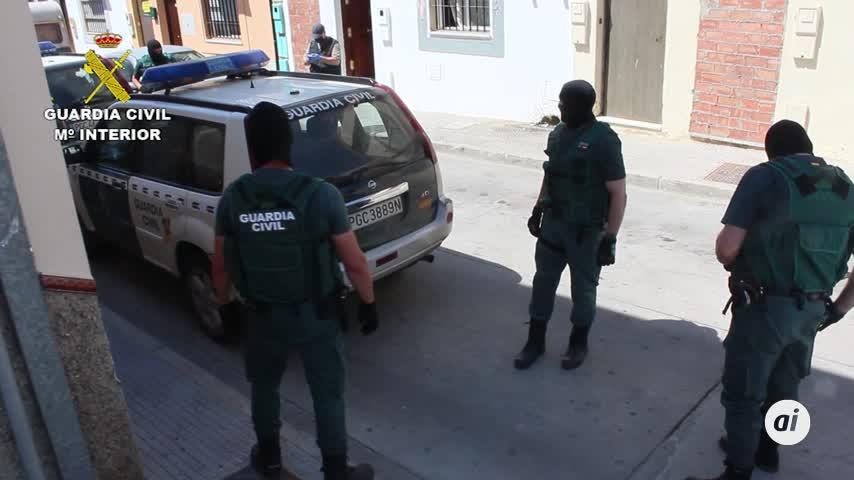Desmantelan una red de coca y marihuana en Castilblanco y Burguillos
