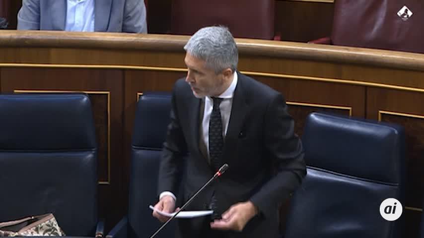 Marlaska: ni el Gobierno ni el CNI están detrás de los espionajes