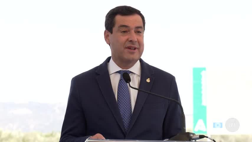 Moreno pide que Andalucía reciba fondos que le corresponde igual que otros