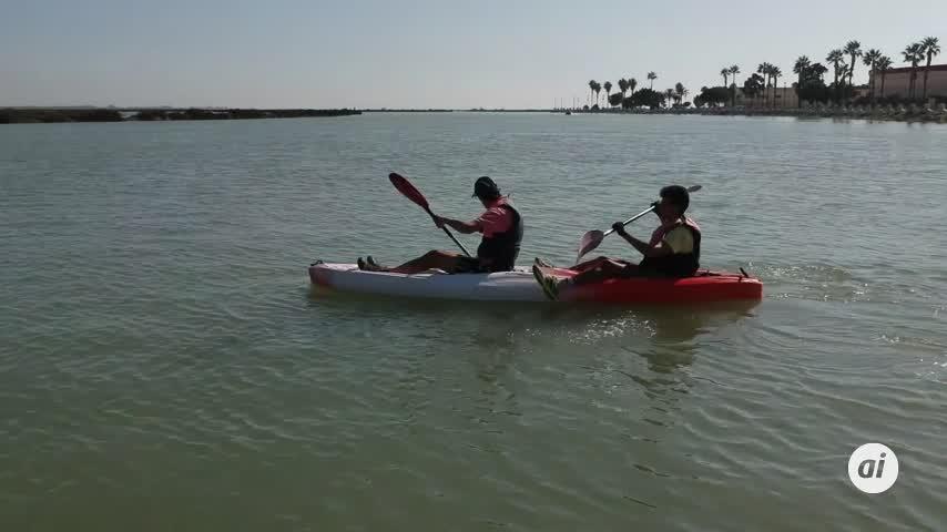 Piden precaución en la navegación con kayak tanto en mar como en interior