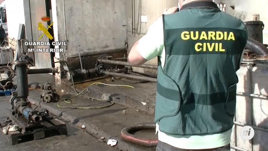 La Guardia Civil investiga a siete personas por vertidos de aceites en Mengíbar