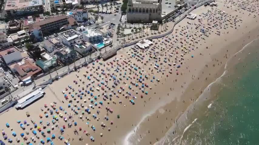 ¿Por qué las playas de Chipiona son modelo de distancia social en Reino Unido?