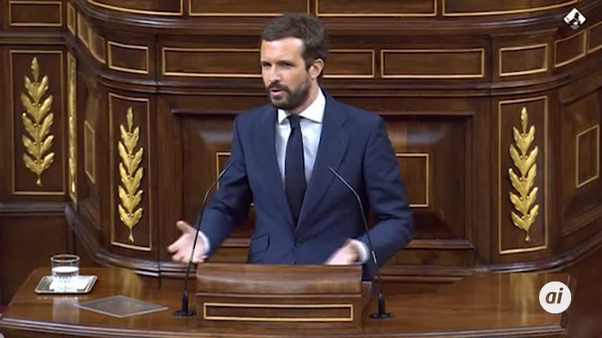 Casado pide a Sánchez nombrar un Alto Comisionado sobre los fondos europeos