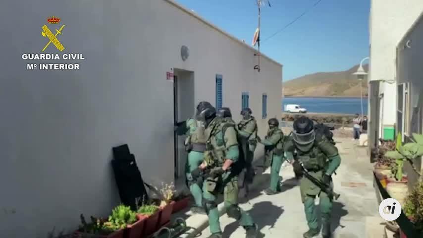 Desmantelada una organización que introducía hachís en Almería