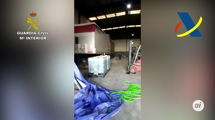 """14 detenidos de una de las más importantes""""gasolineras"""" del narcotráfico"""