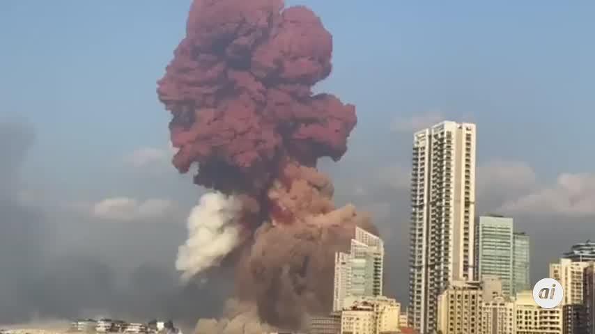 Suben a 63 muertos y 3.000 heridos por las explosiones en el puerto de Beirut