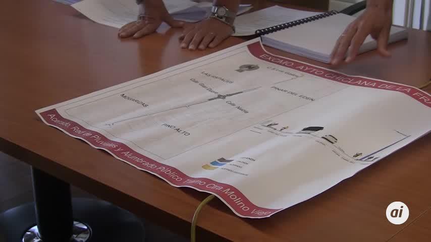 513.000 euros en alumbrado, acerado y pluviales para la zona de Molino Viejo