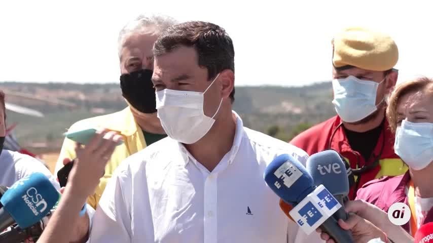 """El Infoca cree """"muy difícil"""" evaluar cuándo se estabilizará fuego de Almonaster"""