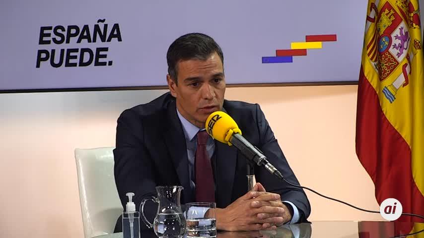 """Pedro Sánchez habla de """"prácticas no ejemplares"""" del Rey emérito"""