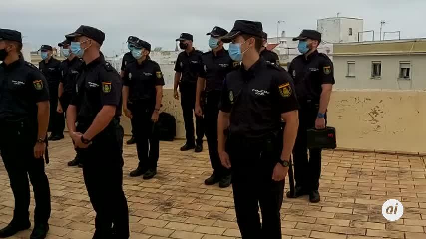 Cádiz incorpora a 200 agentes en prácticas de la Policía Nacional