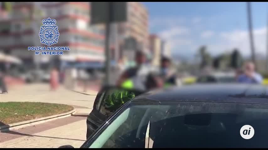 Pillan en Málaga a un fugitivo de Bélgica por agredir sexualmente a dos niñas
