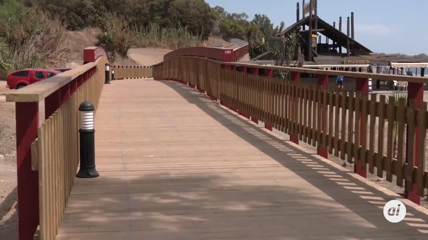 Estepona inaugura un nuevo tramo de la Senda Litoral