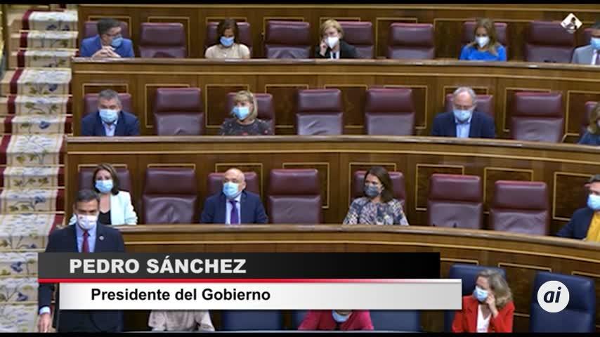 Pedro Sánchez reprocha a Casado