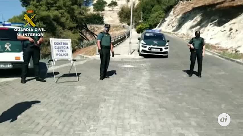Detenidos en Baena tres acusados de lesiones con arma de fuego