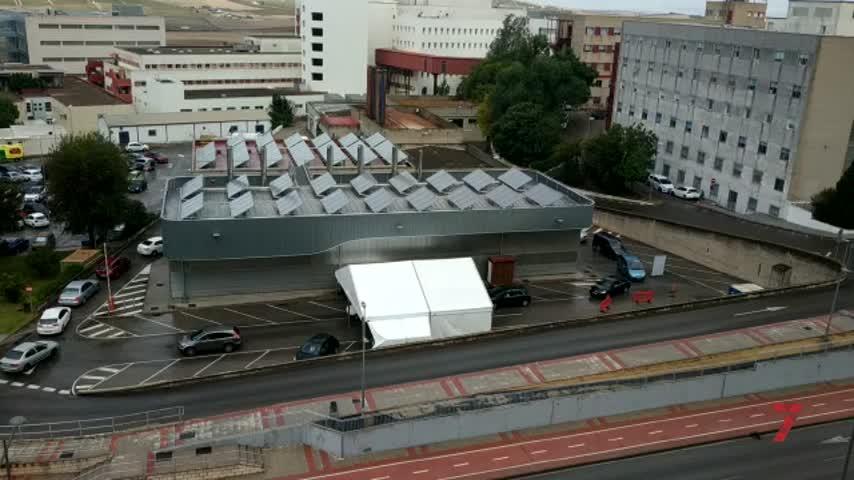 Suben los ingresos en el hospital de Jerez,aunque se reducen los casos por Covid