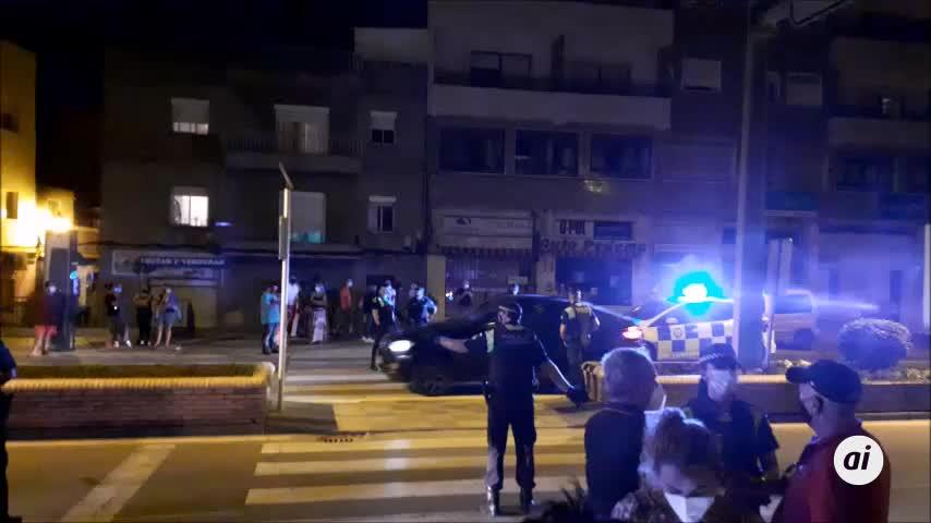 Concentración en la zona del atropello mortal de una mujer en Algeciras