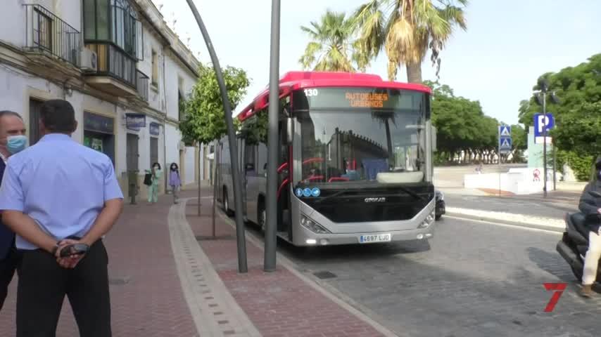 Movilidad presenta el nuevo autobús de gas natural