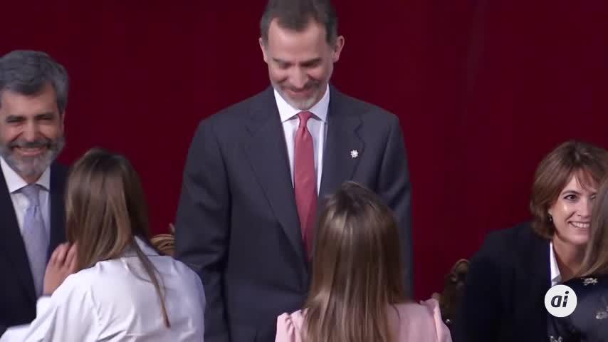 El rey, ausente por primera vez en la entrega de despachos a jueces en Barcelona