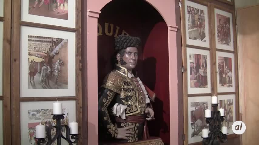 El alcalde visita del Museo Francisco Montes 'Paquiro' tras las obras de reforma