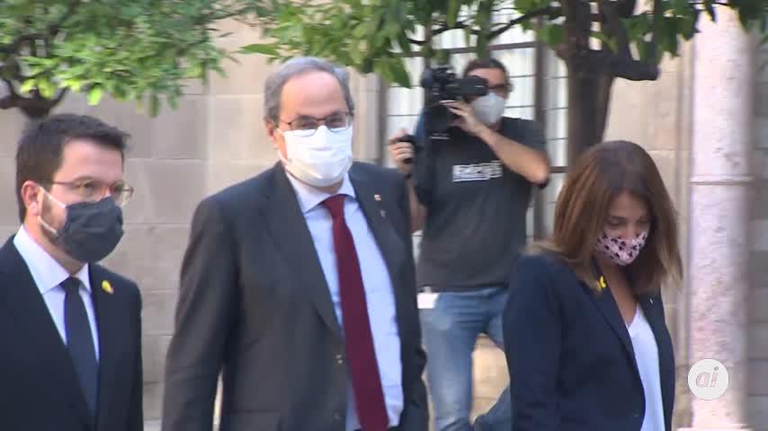 """Torra pide que las próximas elecciones sean un plebiscito que """"confirme"""" el 1-O"""