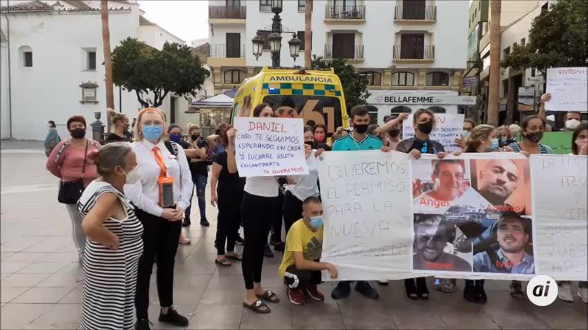 Familiares de los desaparecidos del 'Rúa Mar' reclaman que se retome la búsqueda