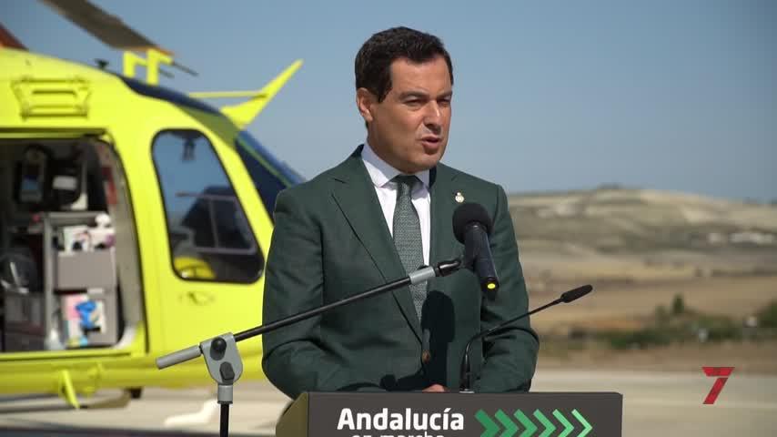 Juan Manuel Moreno elude expresar su respaldo público a Antonio Saldaña