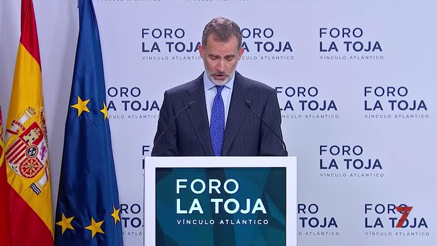 """El Rey subraya que España es una """"democracia plena"""" y reivindica la concordia"""