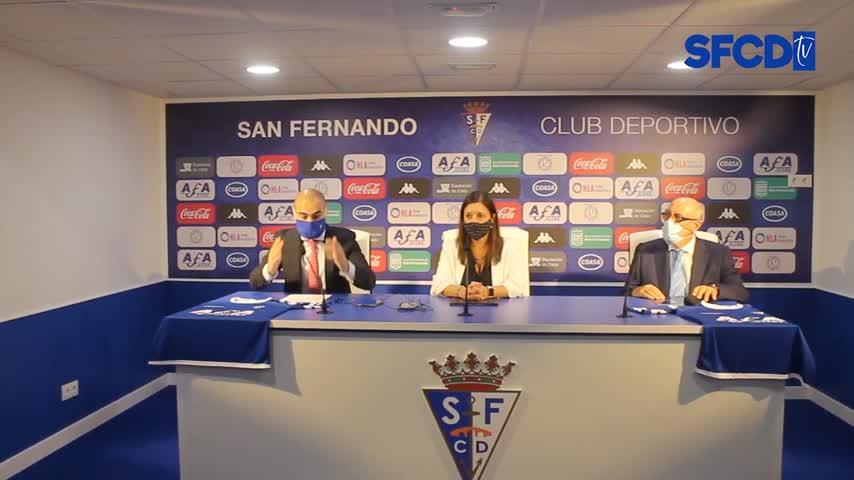 El San Fernando CD lucirá en el frontal de la camiseta el logotipo de AFA-Vitae
